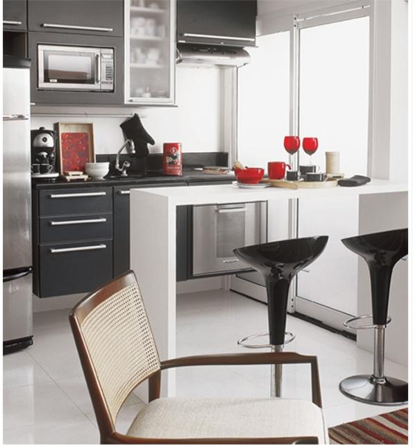 Bar Tarzı Mutfak Modeli