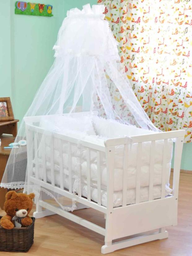 Sallanan Cibinlikli Bebek Beşik Tasarımı